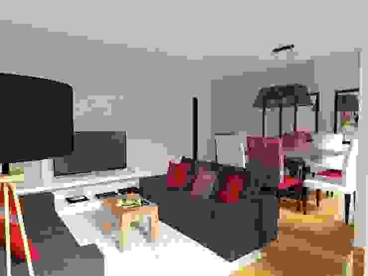 DISEÑO 3D día Livings modernos: Ideas, imágenes y decoración de Deco Abitare Moderno