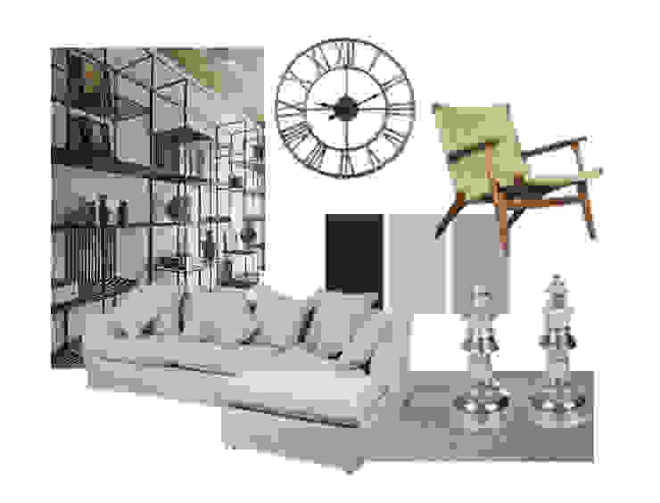 Moodboard Sala de estar de Estudio Interiorismo Ecléctico
