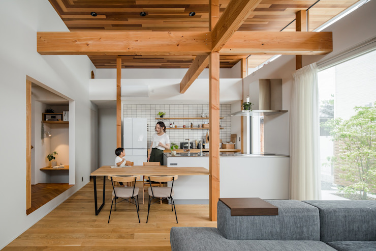 ALTS DESIGN OFFICE Comedores de estilo moderno