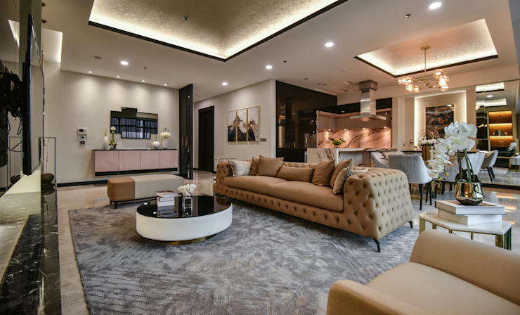 Ritz Carlton Residence Kuala Lumpur by Blaine Robert Design Sdn. Bhd. Modern