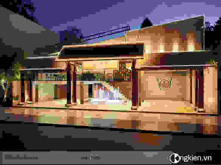 Phối cảnh ngoại thất quán ăn nhà hàng 59 bởi OngKien Design