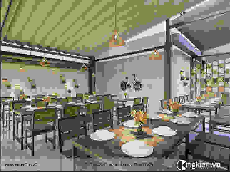 Thiết kế quán ăn gia đình 59 La Gi bởi OngKien Design