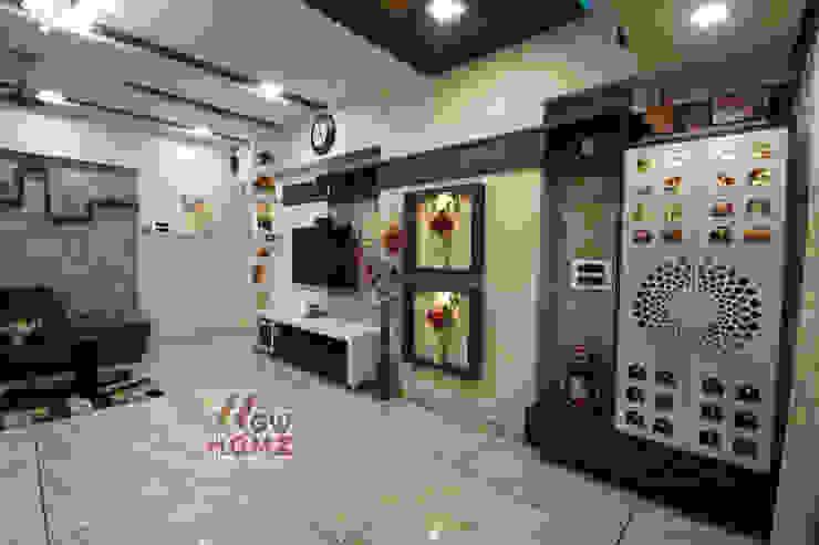 Living Room Modern living room by Wow Homz Modern Wood Wood effect