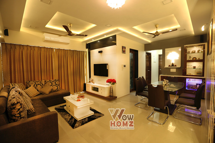Living room:  Living room by Wow Homz,