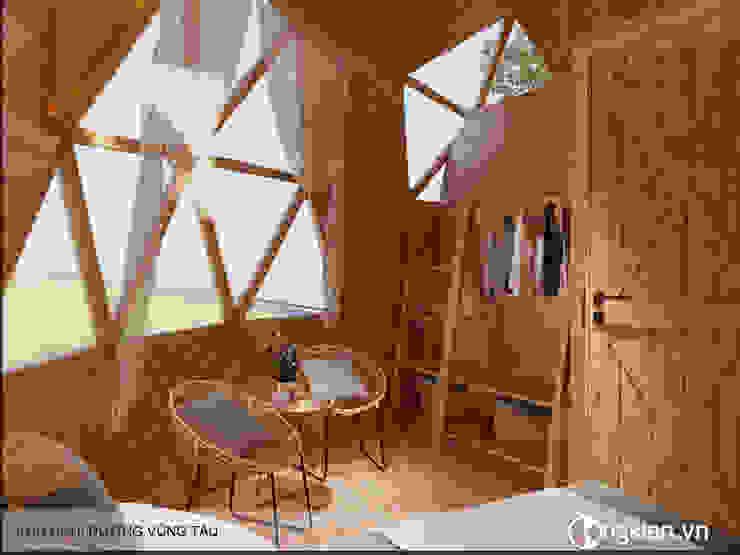 Mẫu thiết kế bungalow ốc sên bởi Công ty TNHH Ông Kien