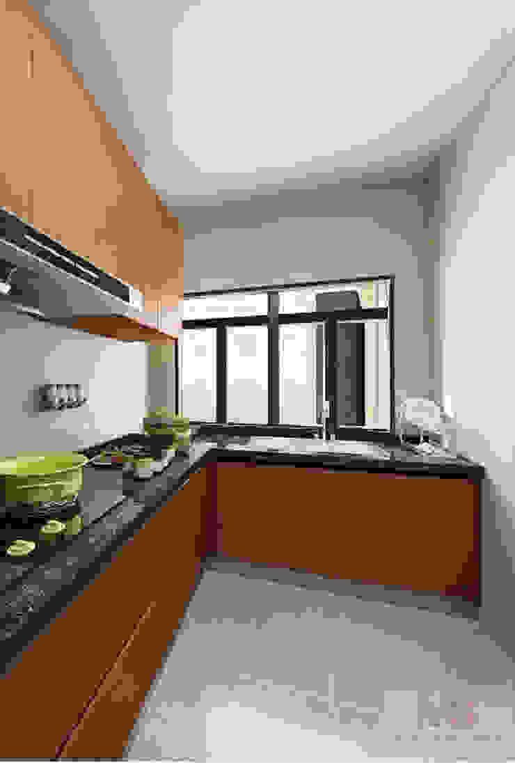 kitchen design by Matter Of Space Pvt. Ltd. Minimalist Stone