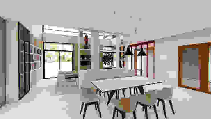 ห้องรับประทานอาหาร โดย Nourish House