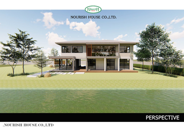 Renovate Home office โดย Nourish House