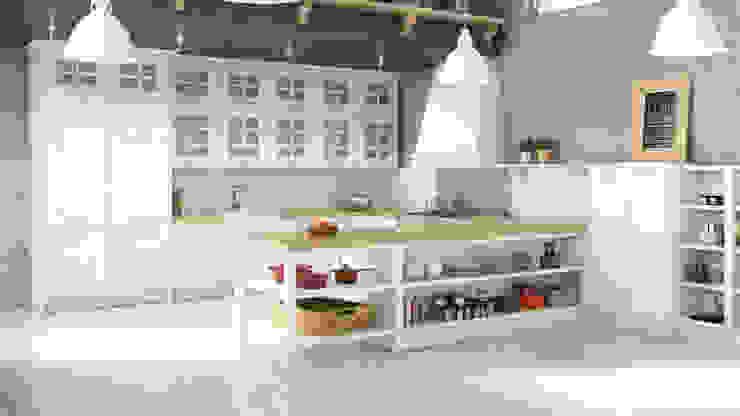 Infografias 3D y Renders 3D Madrid Kitchen