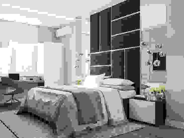 غرفة نوم تنفيذ Анастасия Свистович , تبسيطي