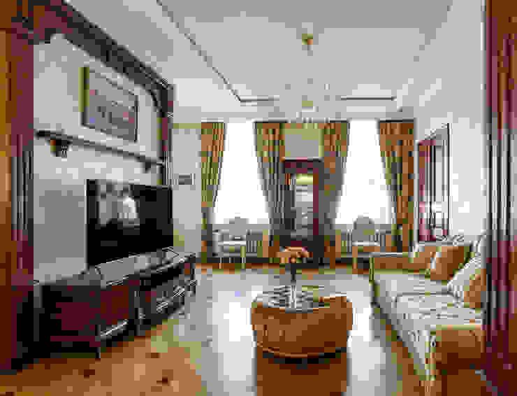 Classic style living room by Студия дизайна интерьера Татьяны Лазурной Classic