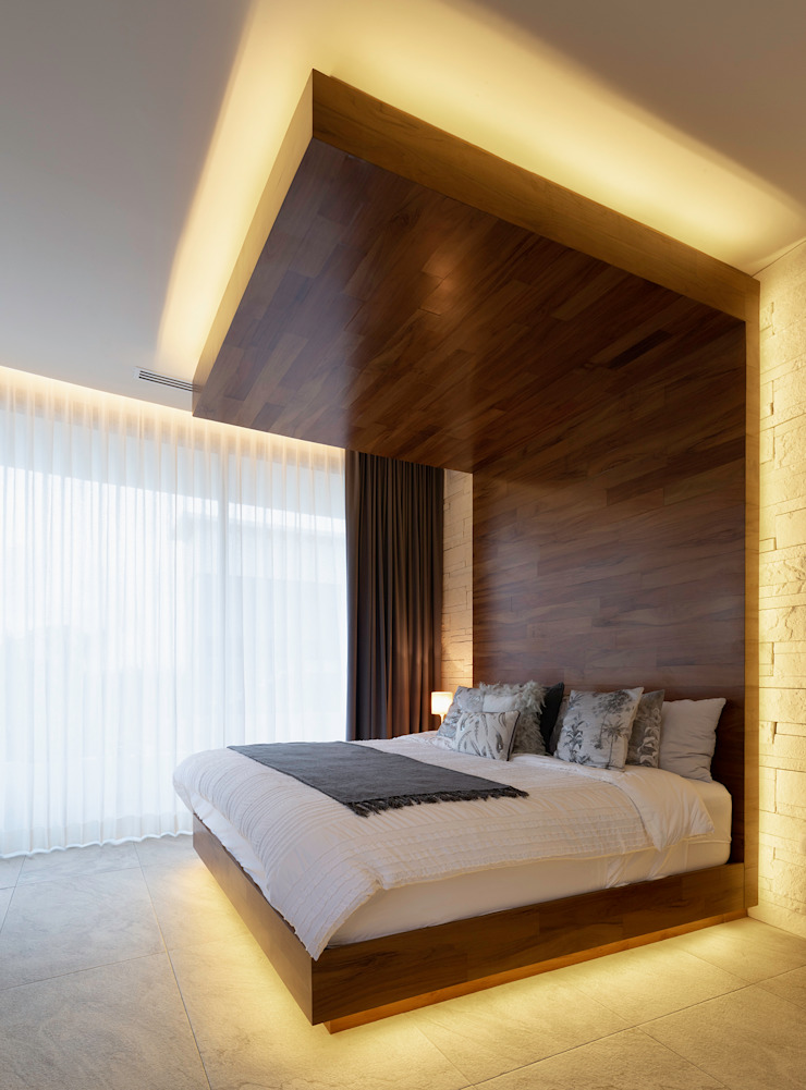 Daniel Cota Arquitectura   Despacho de arquitectos   Cancún Small bedroom Wood Wood effect