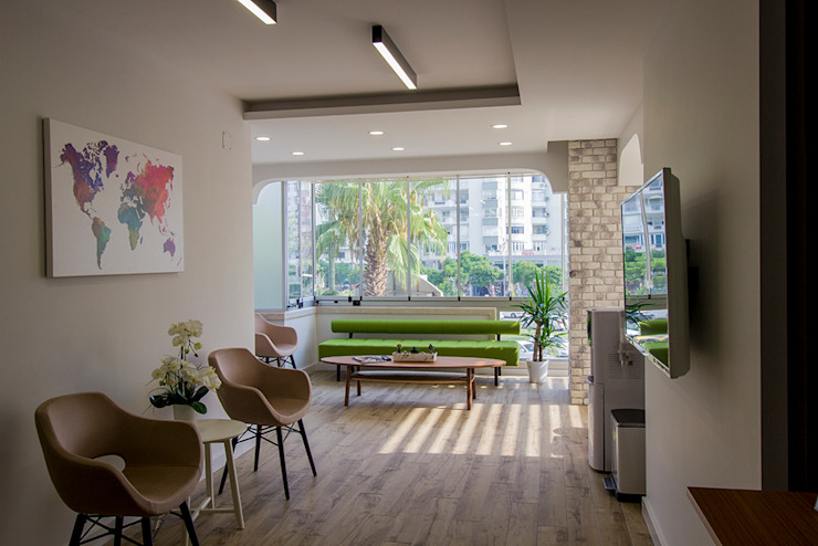 Clínicas de estilo moderno de Teknik Sanat İç Mimarlık Renovasyon Ltd. Şti. Moderno