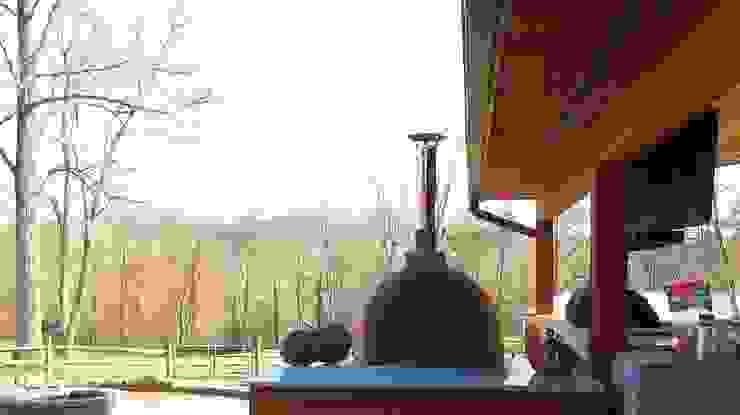 Dome Ovens - Franco Model Mediterranean style garden by Dome Ovens® Mediterranean