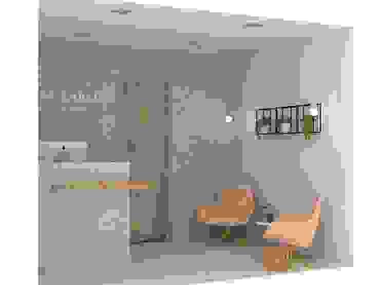 Recepción consultorio Oficinas y comercios de estilo ecléctico de Decó ambientes a la medida Ecléctico