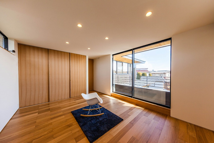 STaD(株式会社鈴木貴博建築設計事務所) Eclectic style bedroom