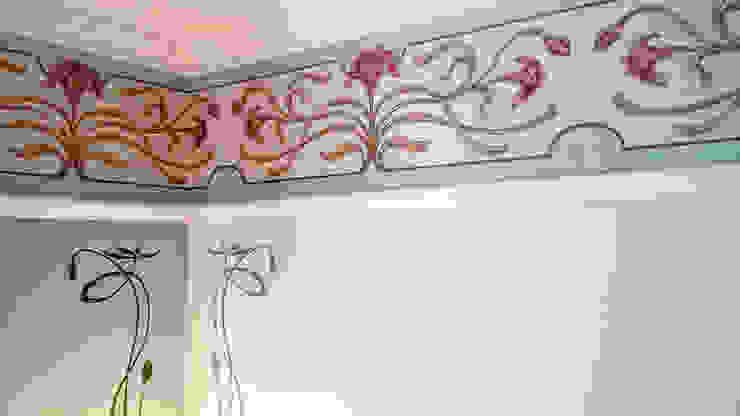 Nouveau Wallpaper Border Fiorentini Design Pareti & Pavimenti in stile moderno