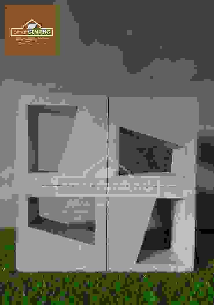 HP/WA: 081 2283 3040 - Roster Beton Tuban - Omah Genteng Ruang Komersial Minimalis Oleh Omah Genteng Minimalis Beton