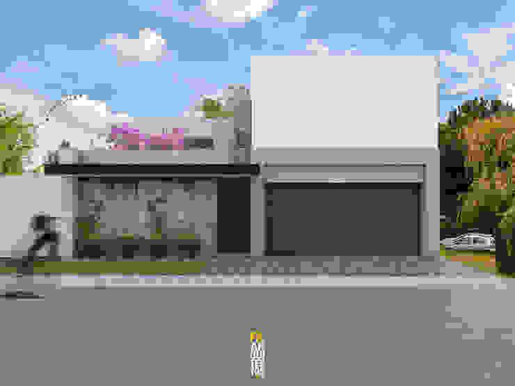 Casas de estilo minimalista de FA Arquitectos Minimalista