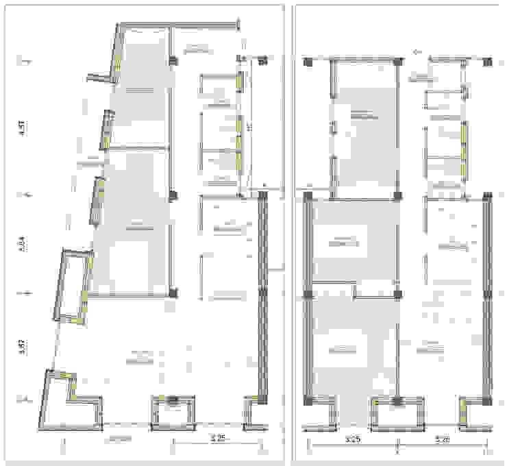 Planta del proyecto. de Bau Arquitectura Tarragona Moderno