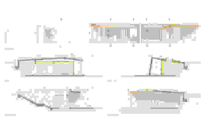 Secciones de camping:  de estilo  de Bau Arquitectura Tarragona,