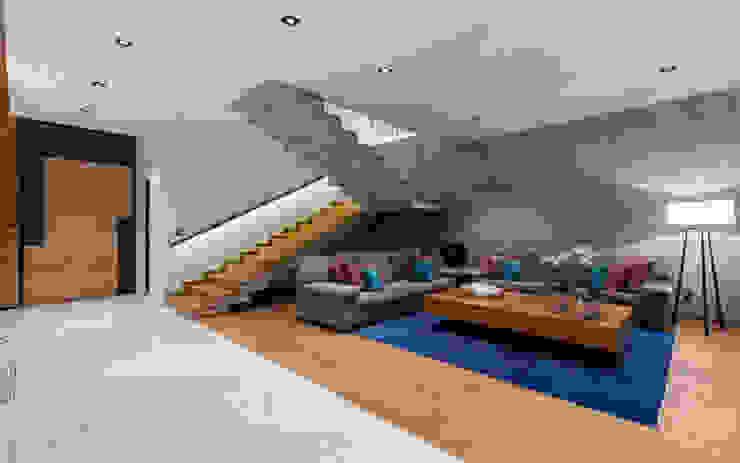 NATALIA MENACHE ARQUITECTURA Stairs Concrete