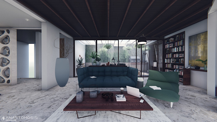 Living room by Anastomosis Design Lab,