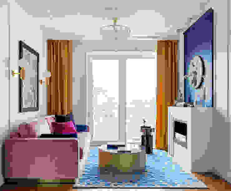 Industrial style living room by Студия Интерьеров Ксении Мезенцевой Industrial