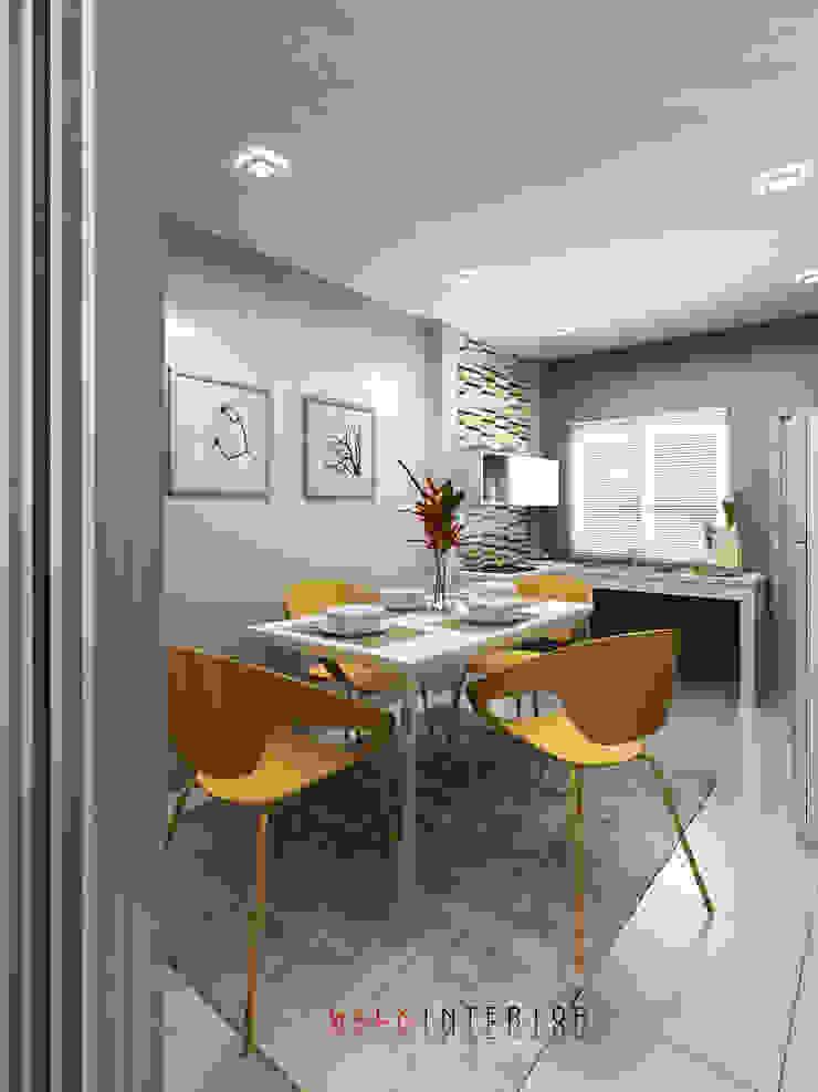 walkinterior Modern Houses Concrete White