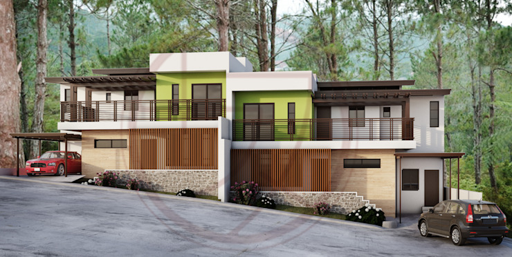 Duplex Residential Kenchiku 2600 Architectural Design Services Multi-Family house