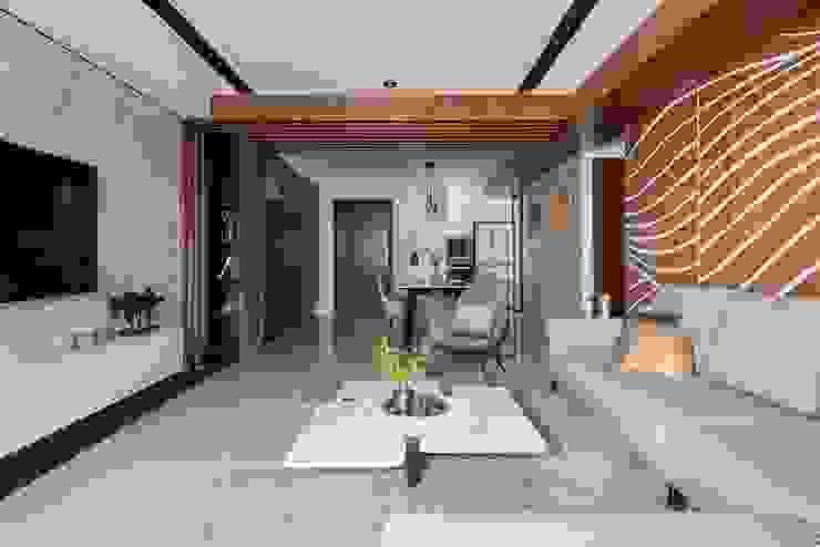 水波 ‧ 靜謐 現代廚房設計點子、靈感&圖片 根據 層層室內裝修設計有限公司 現代風