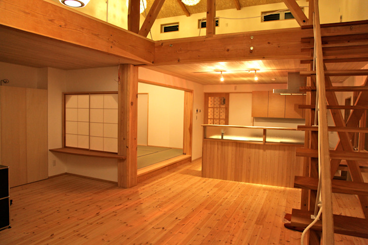 Scandinavian style dining room by 株式会社高野設計工房 Scandinavian