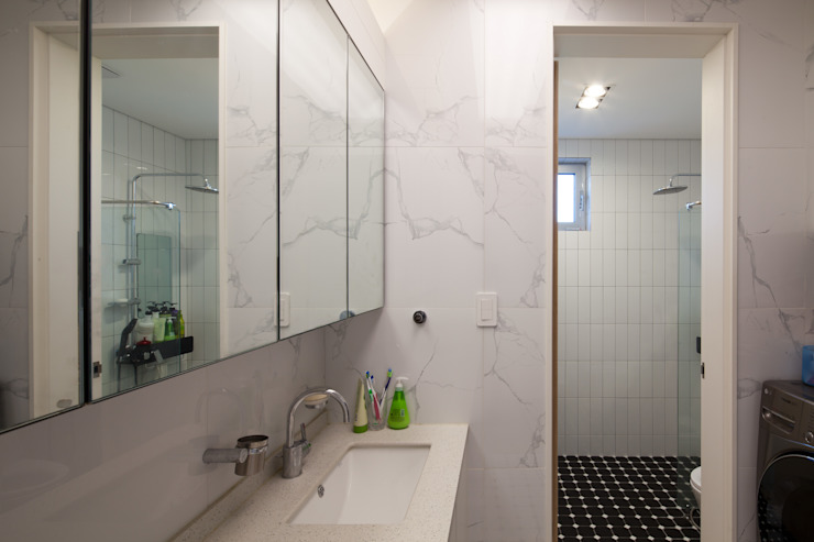 1층 욕실 위드하임 모던스타일 욕실