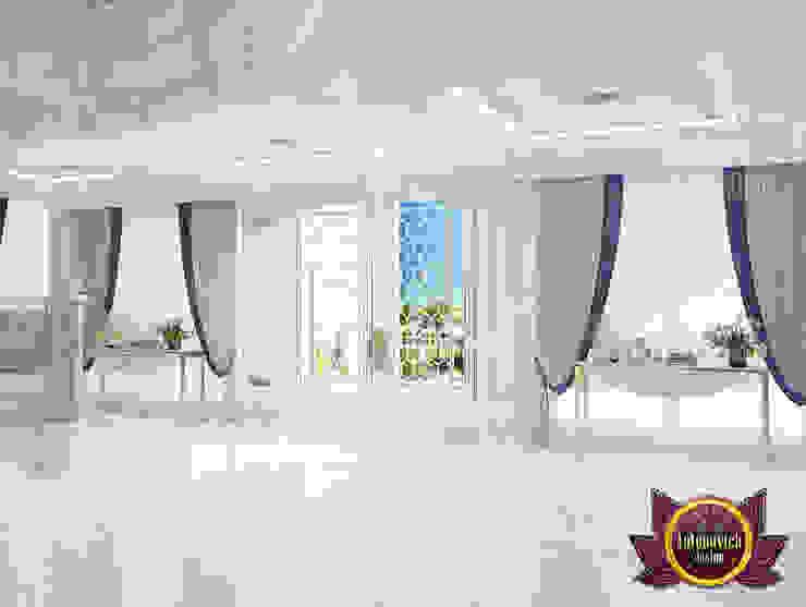 Amazing Light Hall Design by Luxury Antonovich Design
