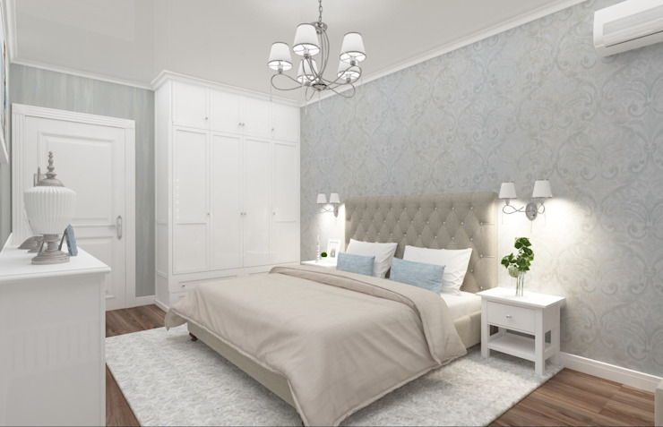 Classic style bedroom by Vision Design Classic