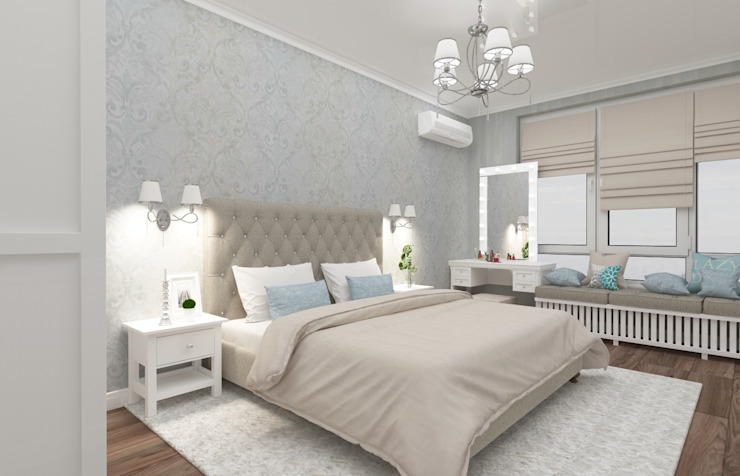 Bedroom by Vision Design, Classic