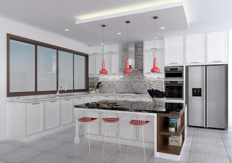 Clark Residence by JM Razon Interiors