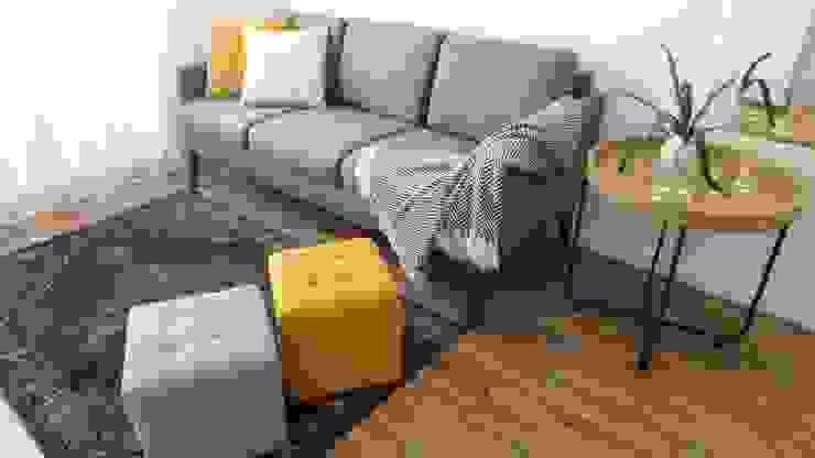 Salas por Cristina Oliveira - Consulting & Interior Design Escandinavo Madeira Acabamento em madeira