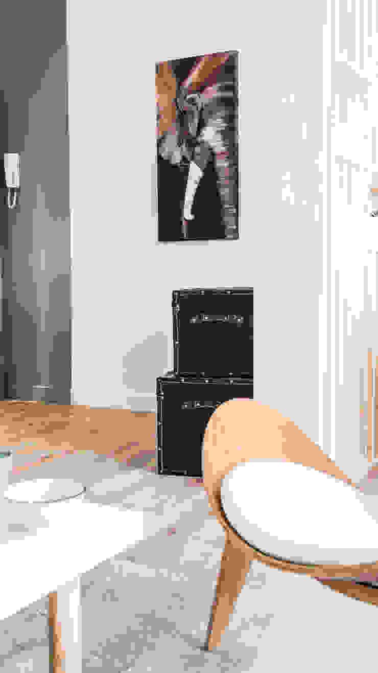 Cabinet d'ostéopathie Salon scandinave par Agence Maïlys MOUTON Scandinave