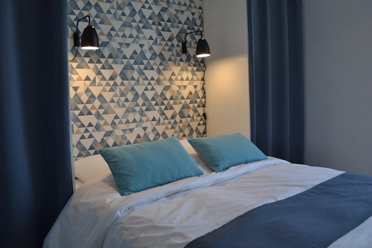 Agence Maïlys MOUTON Livings de estilo escandinavo