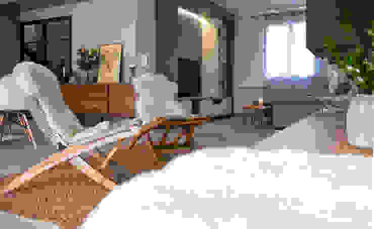 Inspiration Forestière Salon scandinave par Agence Maïlys MOUTON Scandinave