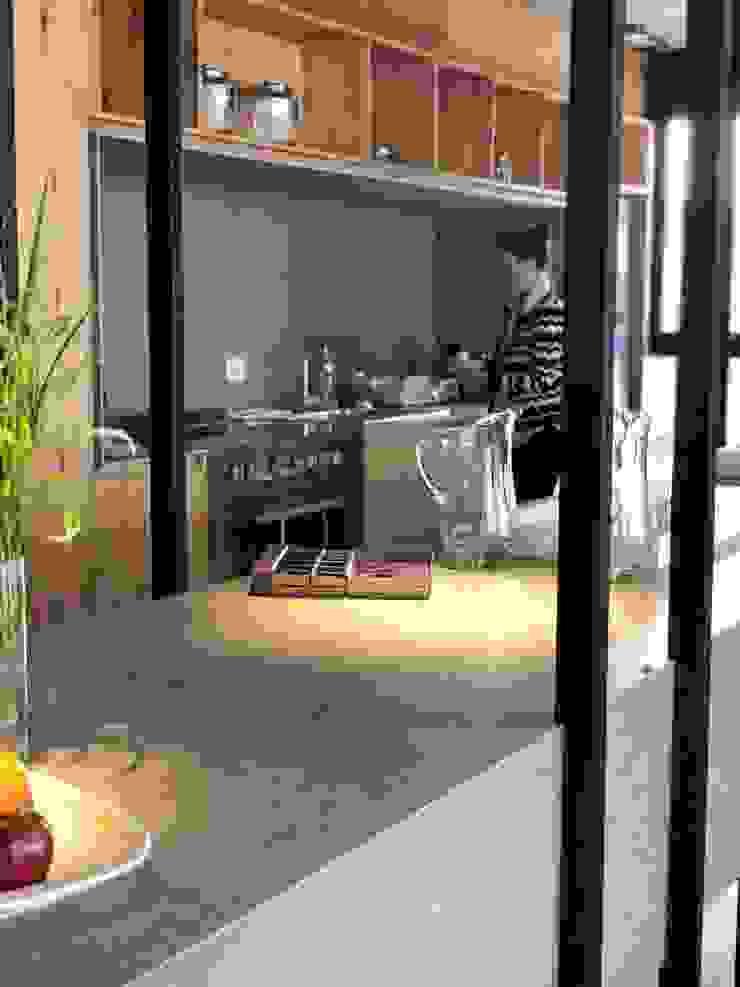 Cocina de Tumburus Lucas - Diseño y Arquitectura Interior Industrial Hierro/Acero