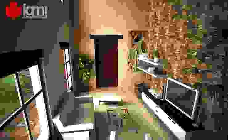 DEPARTAMENTOS COLONIALES: Salas de estilo  por IAM Arquitectos, Colonial