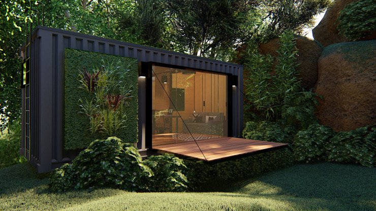 by Giselle Wanderley arquitetura Minimalist Iron/Steel
