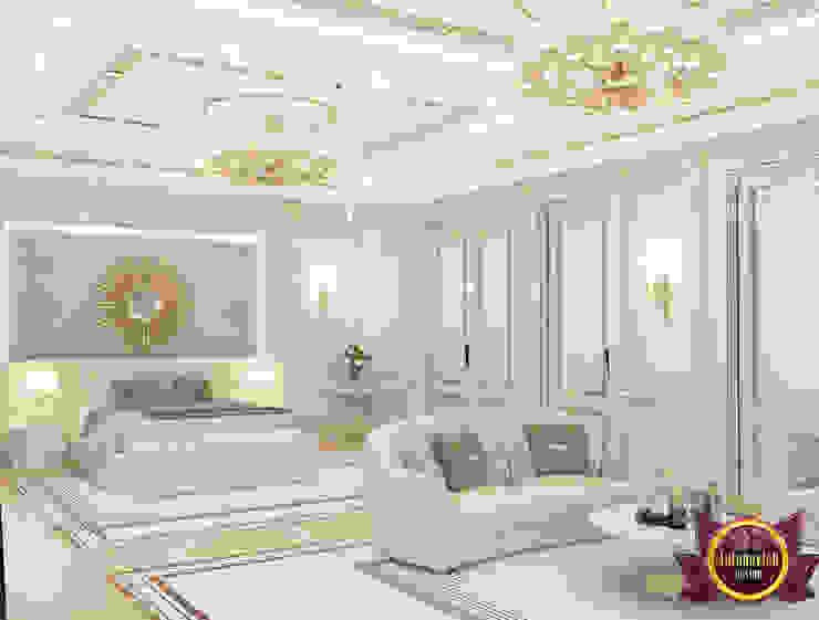 Serene Bedroom Interior by Luxury Antonovich Design