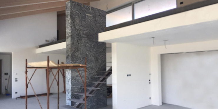 Canalmarmi e Graniti snc 牆面 大理石 Black