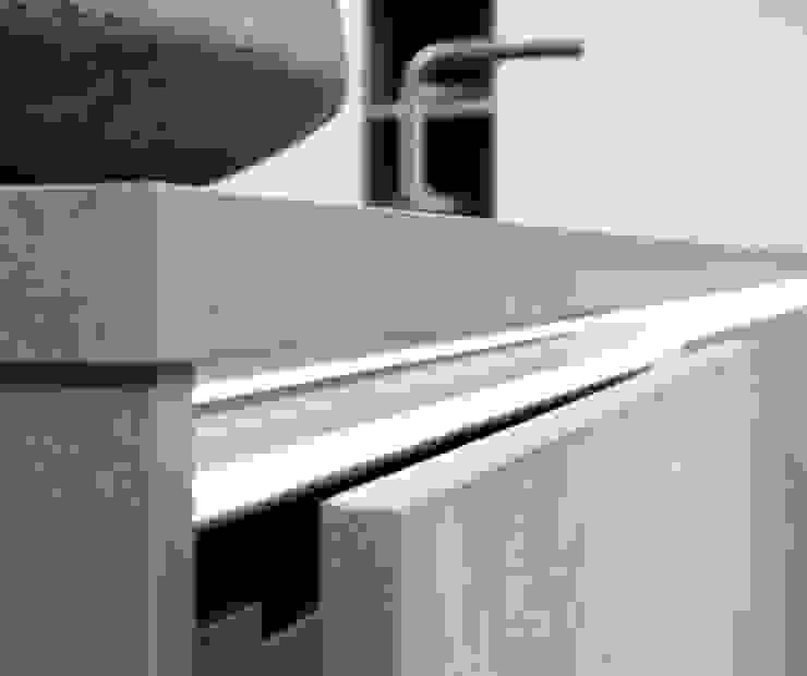 Concrete Kitchen Units: modern  by LWK Kitchens SA, Modern Concrete
