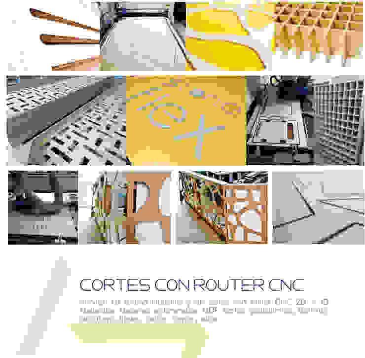 Cortes especiales en CNC router 2D y 3D de Arte ligero colombia