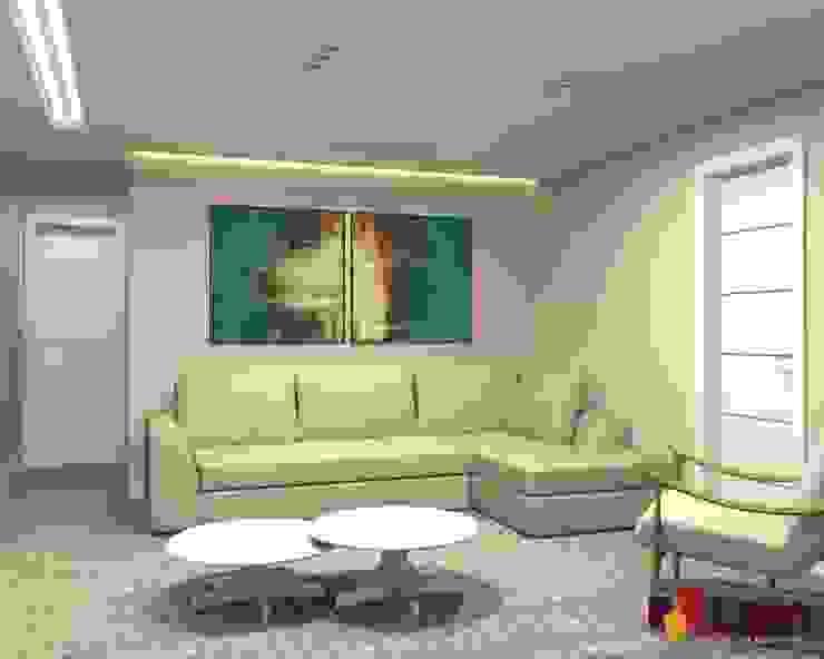 Столовая комната в стиле модерн от LAM Arquitetura | Interiores Модерн