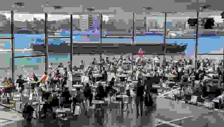 Salle à manger scandinave par Lupe Ceniza Scandinave